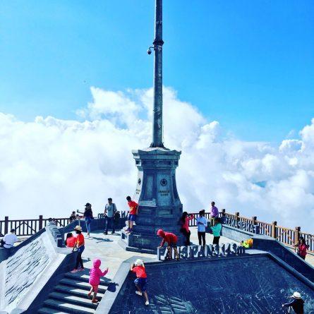 ベトナムの山の頂上